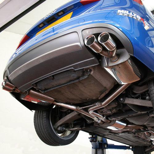 Milltek Non-Resonated Catback For Audi B8 S4 3.0