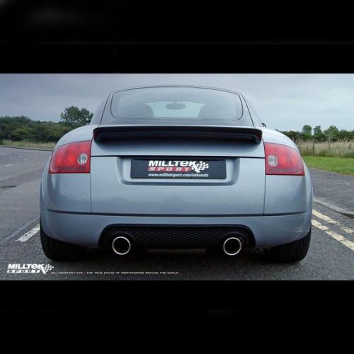Milltek Dual Outlet Catback For Audi TT 180 / 225 Quattro
