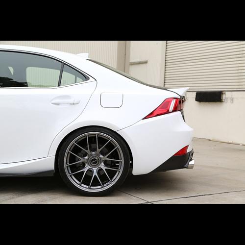 Sm Style Carbon Fiber Rear Spoiler For 2014 Up Lexus Is250